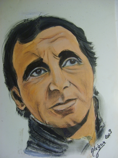 Charles Aznavour by joie